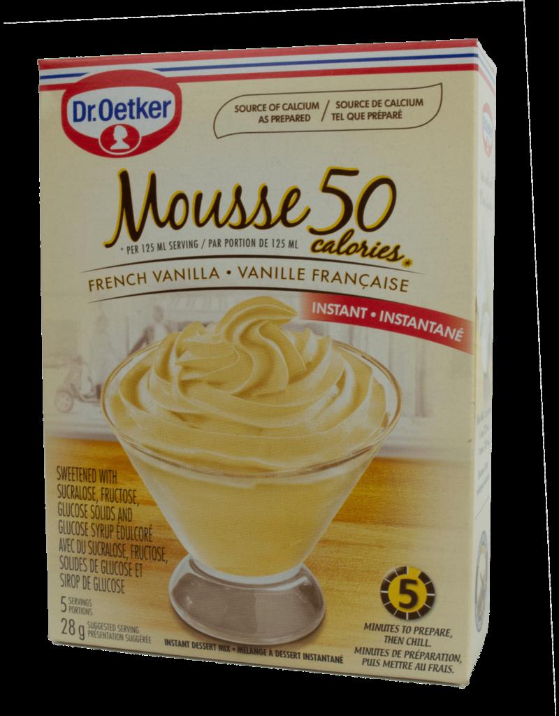 Dr Oetker Dr Oetker Mousse 50 Vanilla 38g