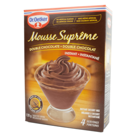 Dr Oetker Mousse Supreme Double Chocolate 120g