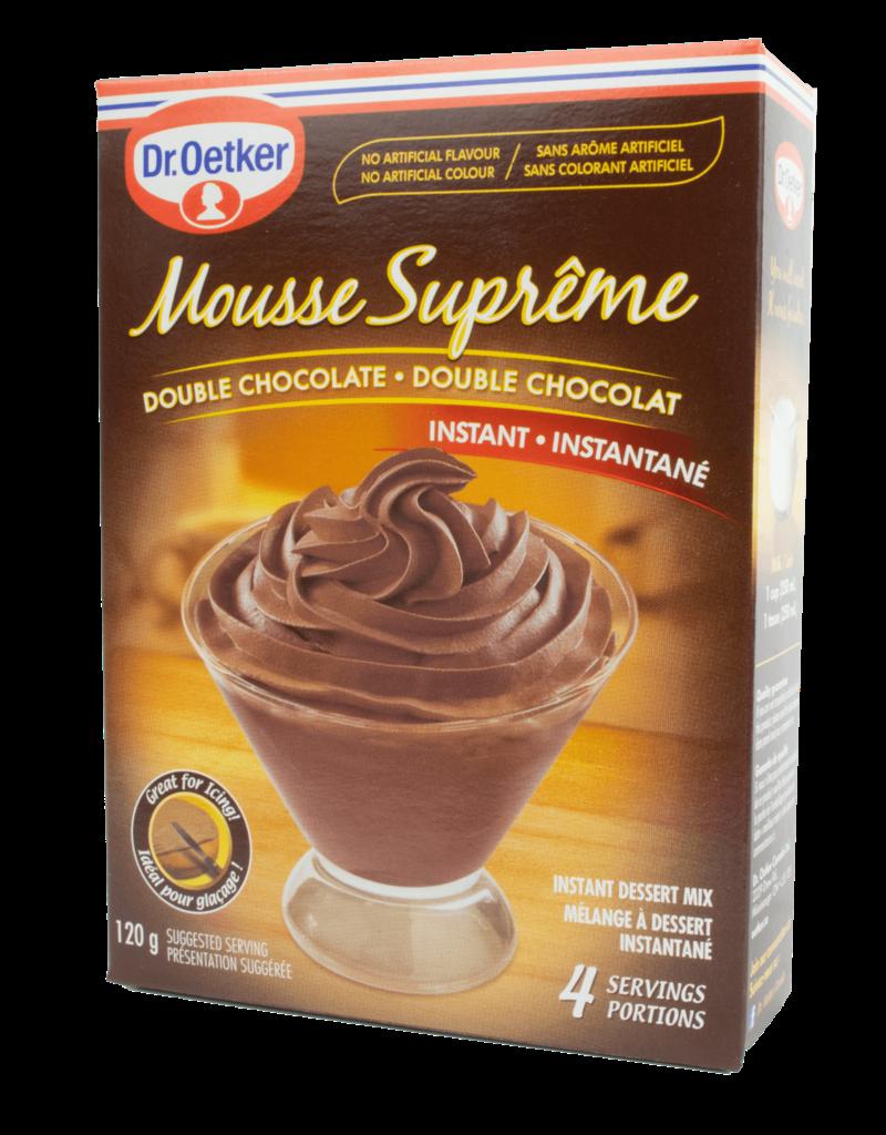 Dr Oetker Dr Oetker Mousse Supreme Double Chocolate 120g
