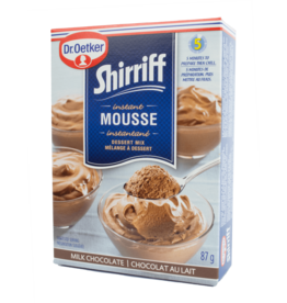 Dr Oetker Shirriff Instant Mousse - Chocolate 87g