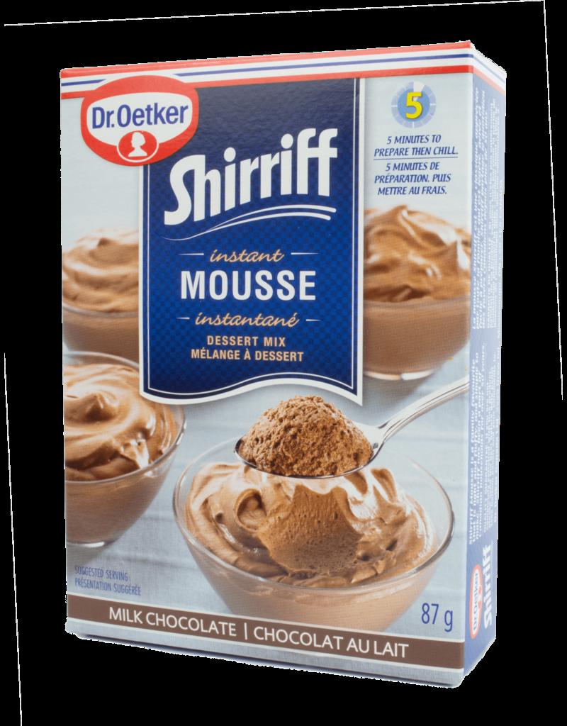 Dr Oetker Dr Oetker Shirriff Instant Mousse - Chocolate 87g