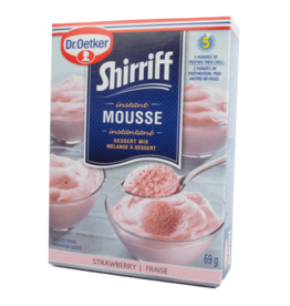 Dr Oetker Shirriff Instant Mousse - Strawberry 69g