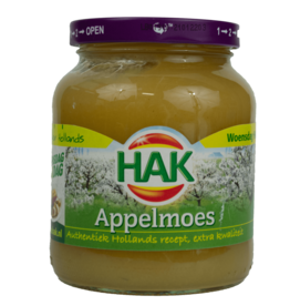 Hak Appelmoes Apple Sauce 370ml