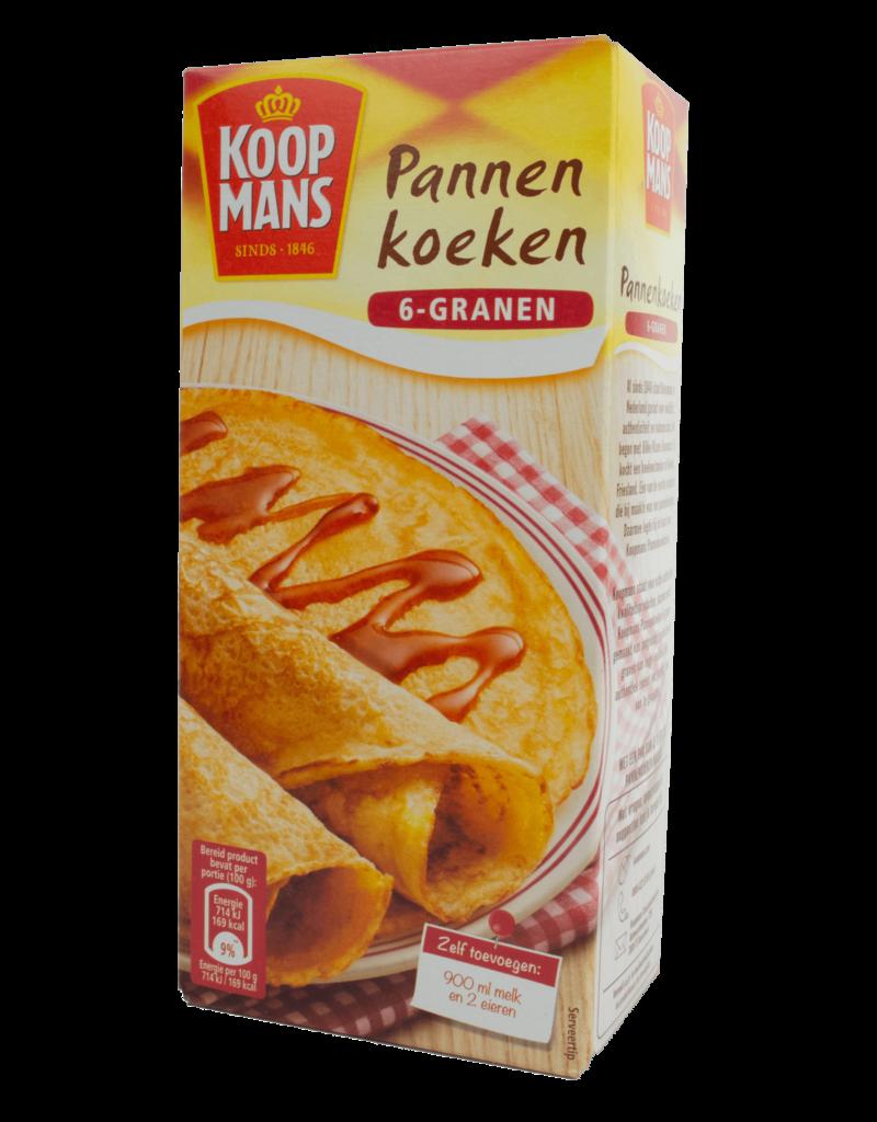 Koopmans Koopmans Pannen Koeken Pancake Mix 6 Grain 400g