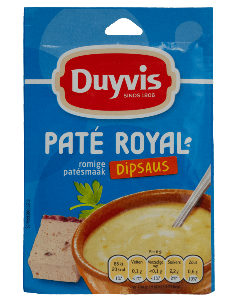 Duyvis Duyvis Dip Sauce Mix - Pate Royal 6g