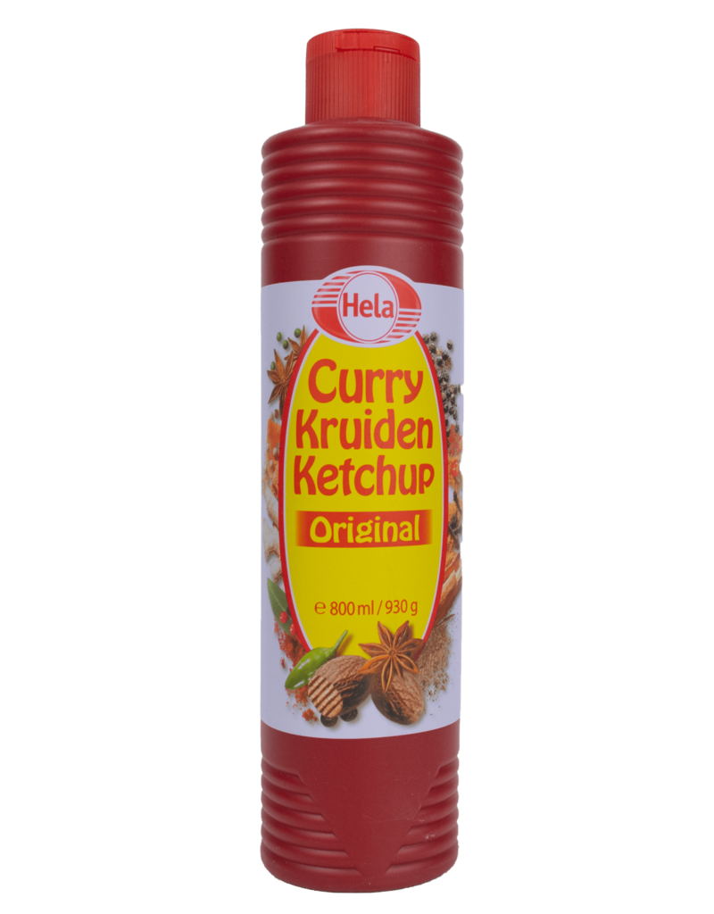 Hela Hela Curry Ketchup 800ml
