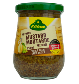 Kuhne Mustard - Whole Grain 250ml