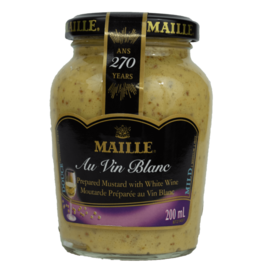 Maille Mustard with White Wine 200ml