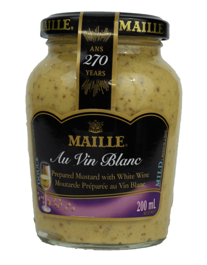 Maille Maille Mustard with White Wine 200ml