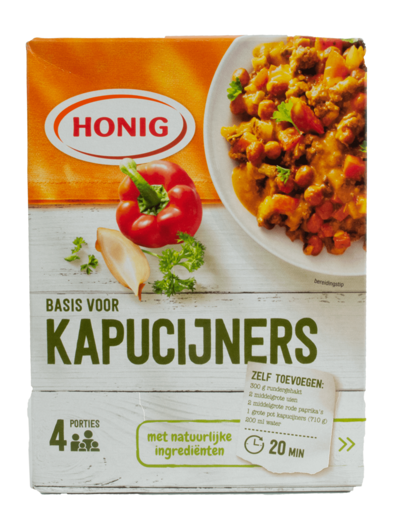Honig Honig Kapucijners Marrowfat Pea Mix 46g