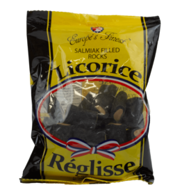Europe's Finest Salmiak Filled Rocks Licorice 150g