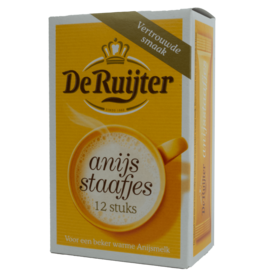 De Ruijter Anise Sticks 12X6.3g