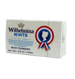 Wilhelmina Peppermints Box 100g