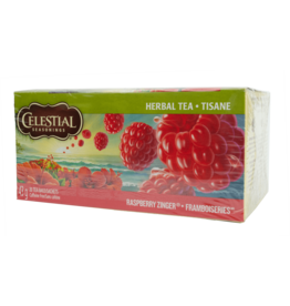 Celestial Seasonings Seasonings Raspberry Zinger Tea 43g