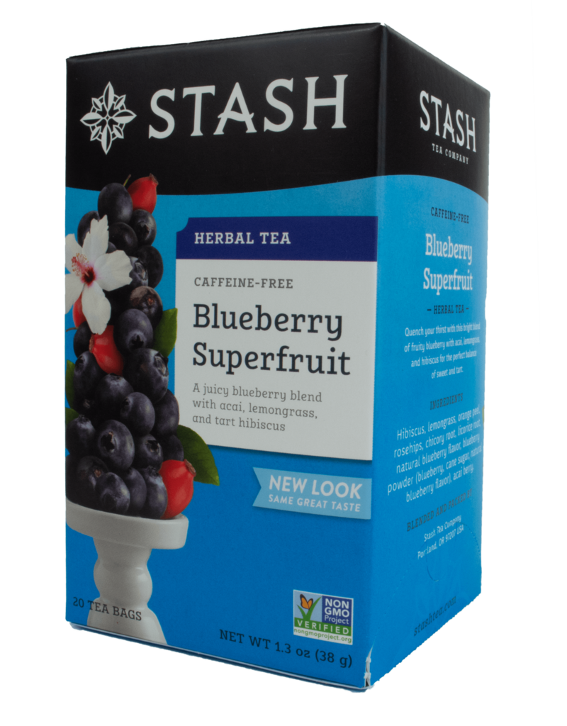 Stash Stash Blueberry Caffeine Free Tea