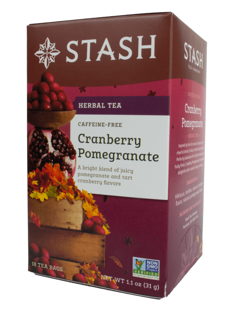 Stash Stash Cranberry Pomegranate Decaf Tea