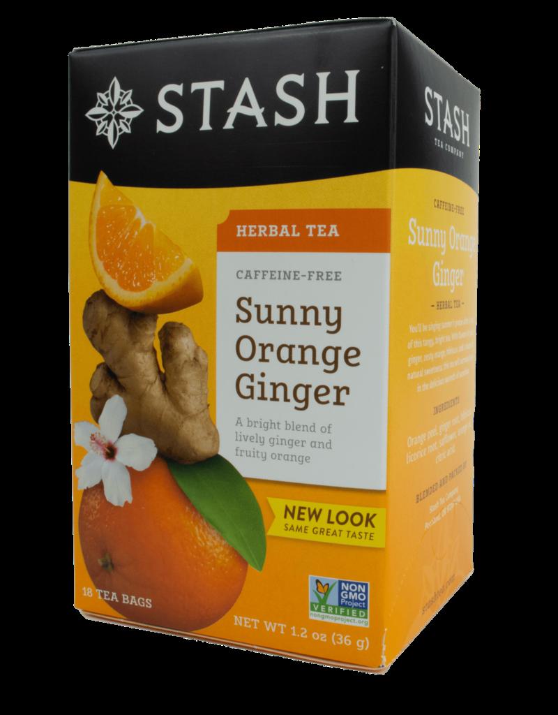 Stash Stash Sunny Orange Ginger Tea