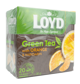 Loyd Green Tea with Orange and Mandarin 20X2g