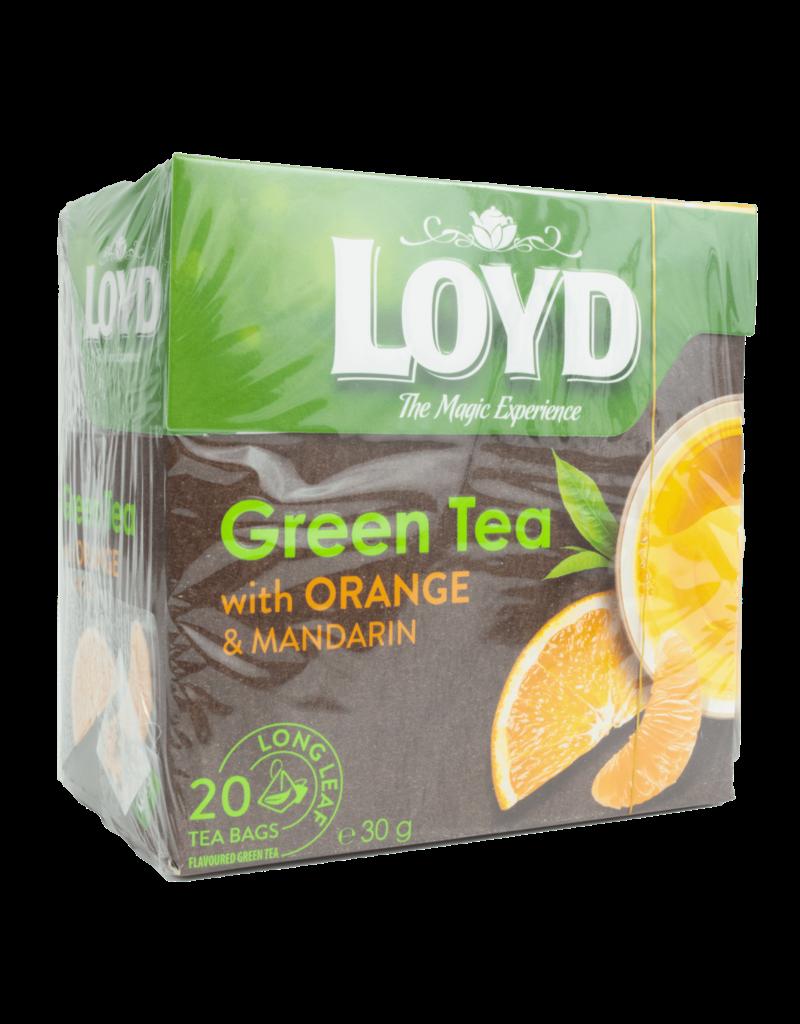 Loyd Loyd Green Tea with Orange and Mandarin 20X2g