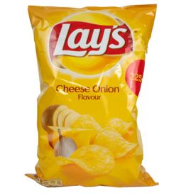 Lays Cheese Onion Chips 225g