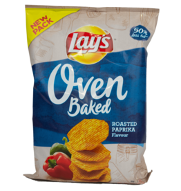 Lays Oven Baked - Roasted Paprika 165g