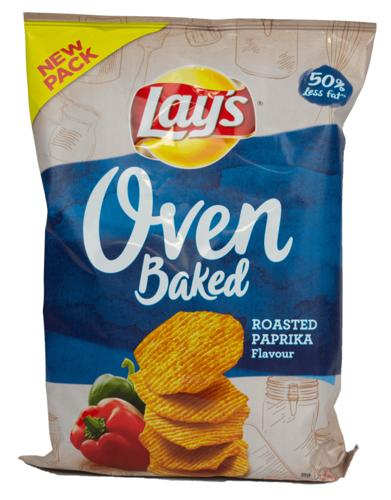 Lays Lays Oven Baked - Roasted Paprika 165g