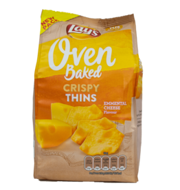 Lays Oven Baked Crispy Thins - Emmental Cheese 90g