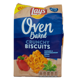 Lays Oven Baked Crunchy Biscuits - Paprika 90g
