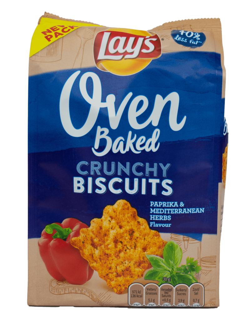 Lays Lays Oven Baked Crunchy Biscuits - Paprika 90g