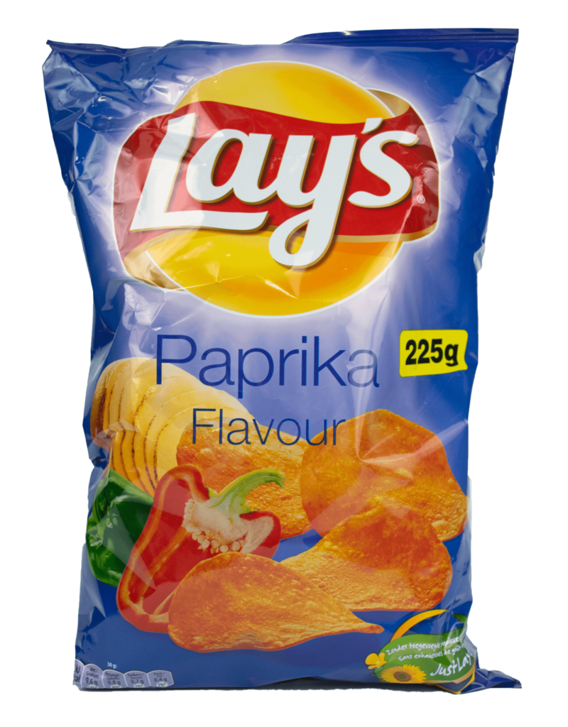 Lays Lays Paprika Chips 225g