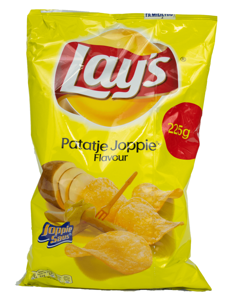 Lays Lays Patatje Joppie Chips 225g