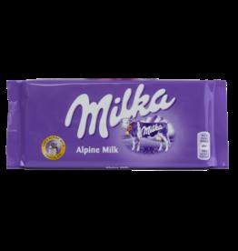 Milka Alpine Milk Chocolate Bar 100g