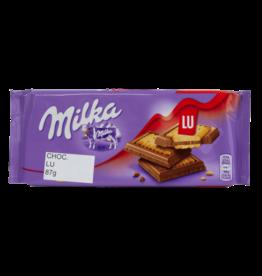 Milka Lu Cookie Chocolate Bar 87g