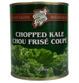 Custan Foods Chopped Kale 796ml