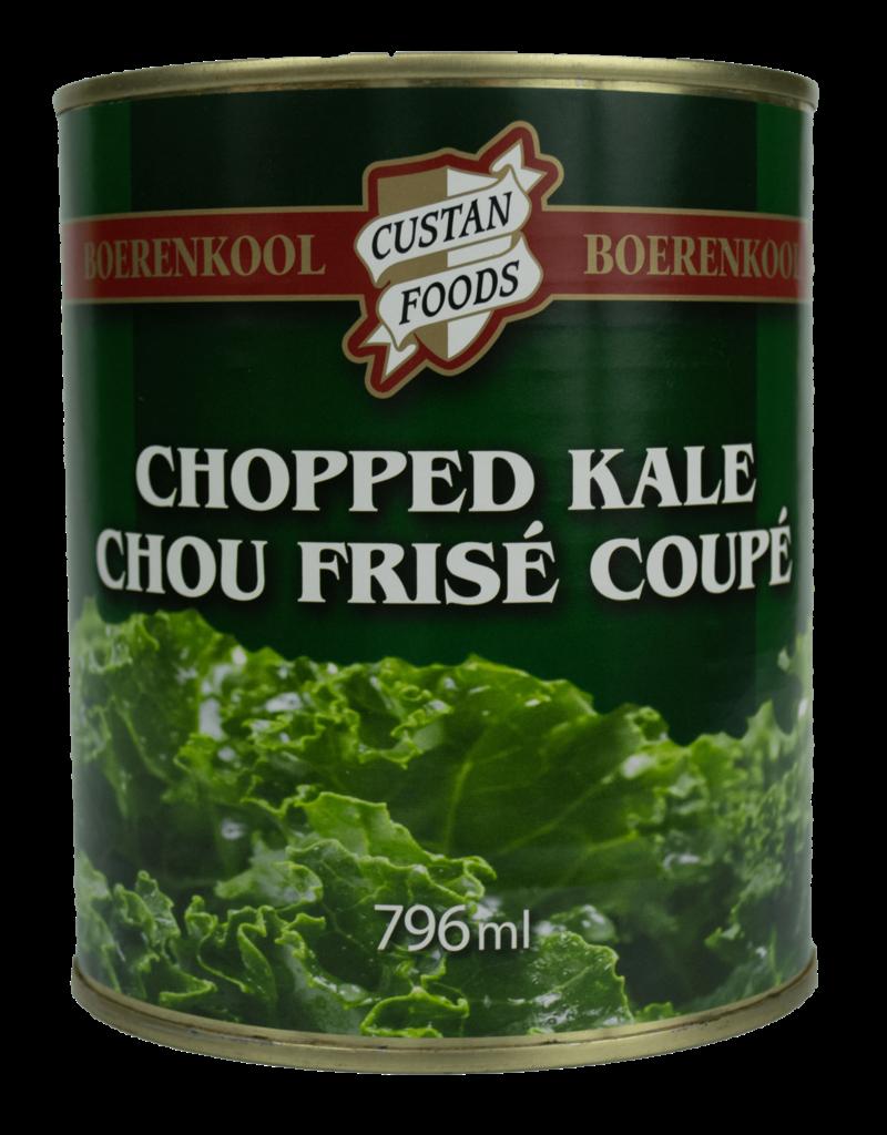 Custan Custan Foods Chopped Kale 796ml