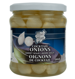 Custan Foods Cocktail Onions 250ml