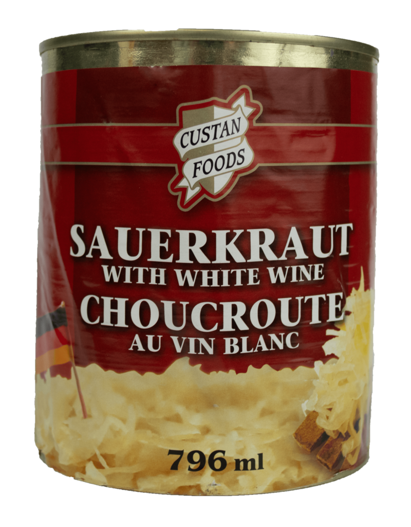 Custan Custan Foods Sauerkraut with White Wine 796ml