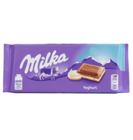 Milka Yoghurt Chocolate Bar 100g