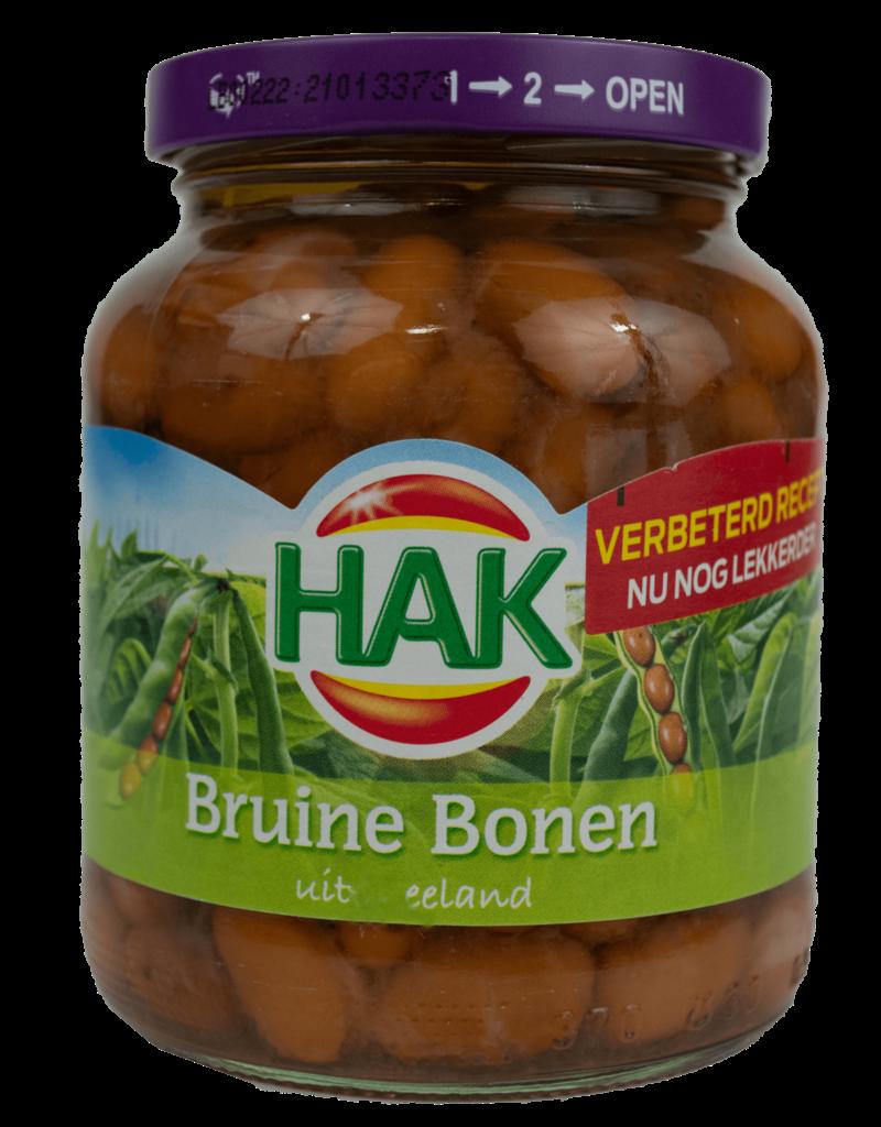Hak Hak Brown Beans 370ml