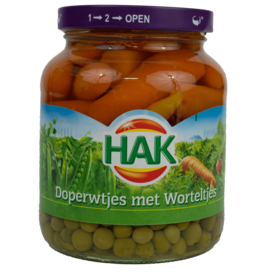 Hak Peas and Carrots 370ml