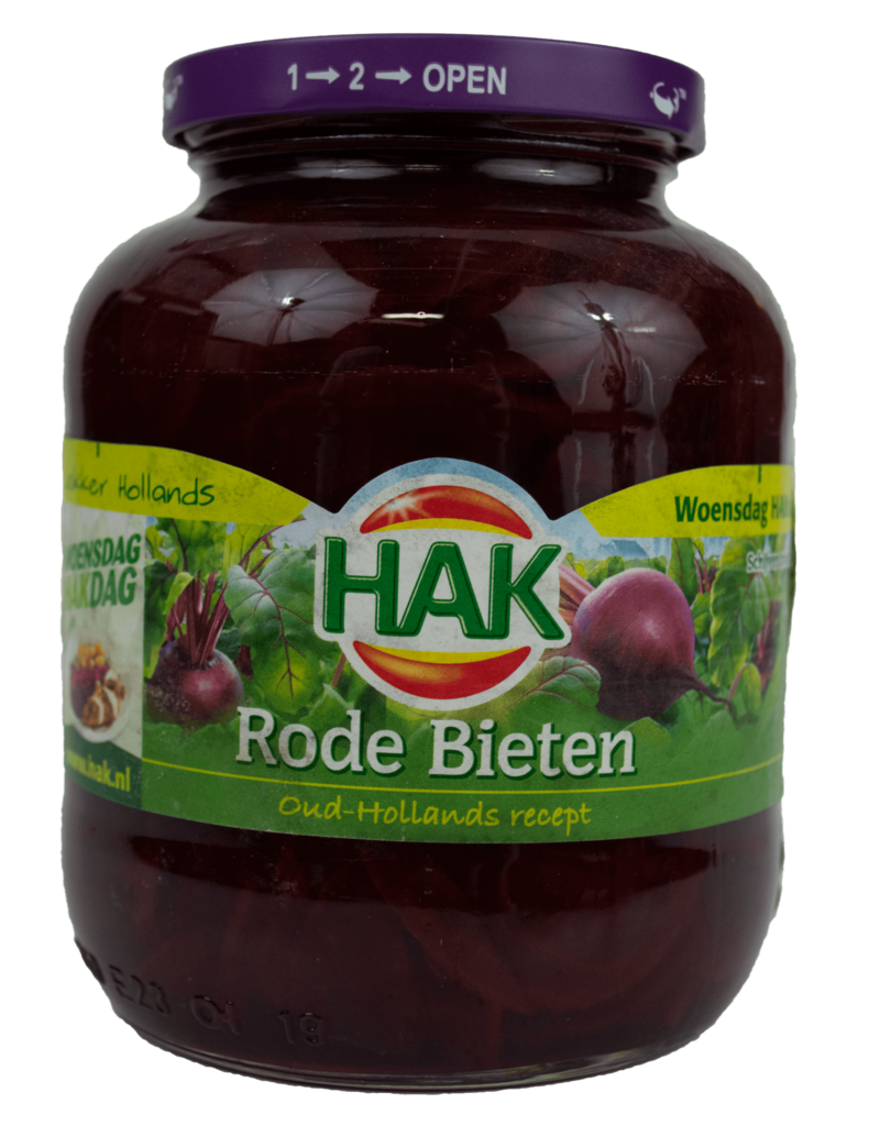Hak Hak Red Beets 720ml