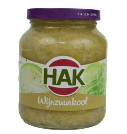 Hak Wine Sauerkraut 340ml