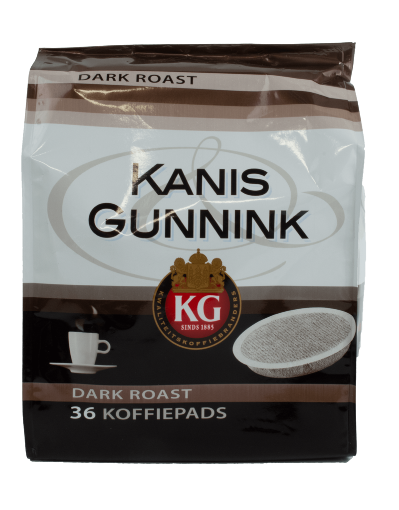 Kanis Gunnink Kanis Gunnink Dark Roast Coffee Pods 36 Pack 250g