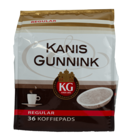 Kanis Gunnink Regular Roast Coffee Pods 36 Pack
