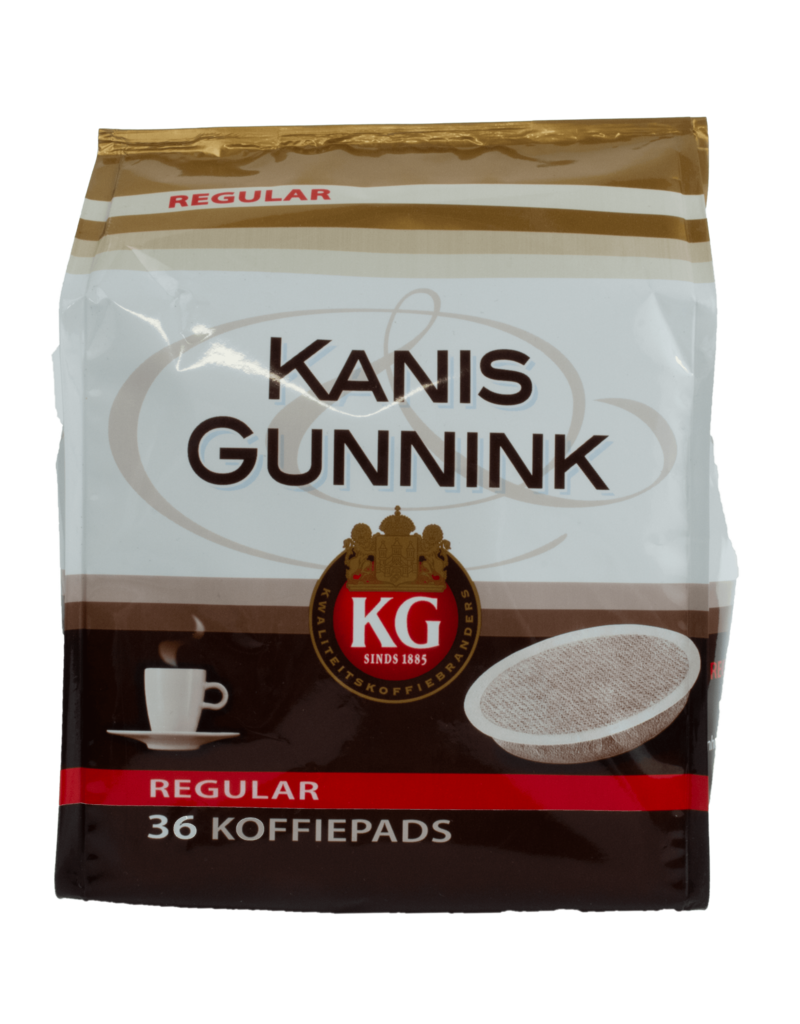 Kanis Gunnink Kanis Gunnink Regular Roast Coffee Pods 36 Pack