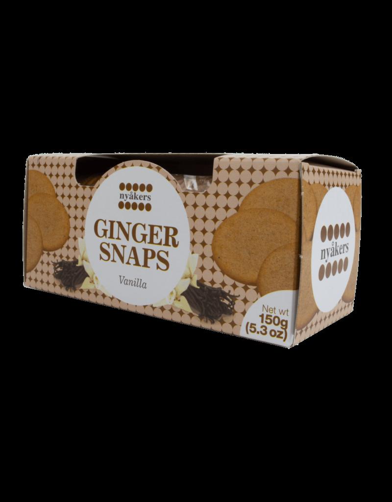 Nyakers Nyakers Ginger Snaps Vanilla 150g