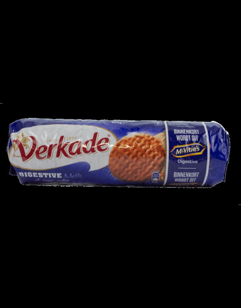 Verkade Verkade Milk Chocolate Digestive Cookie 400g