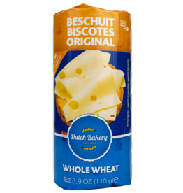 Dutch Bakery Beschuit (Rusk) Whole Wheat 110g