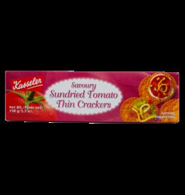 Kasseler Thin Crackers - Sundried Tomato 150g