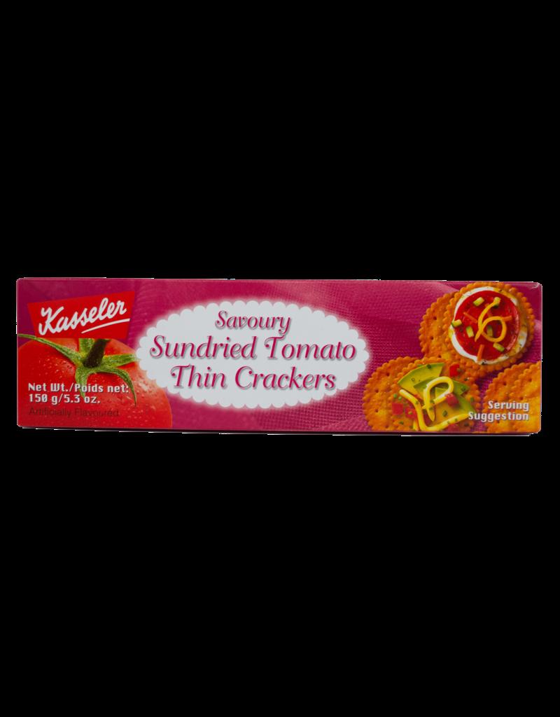 Kasseler Kasseler Thin Crackers - Sundried Tomato 150g